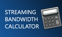 Video Streaming Bandwidth Calculator